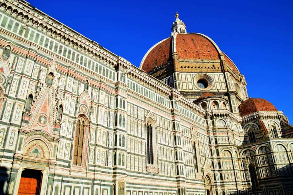 A long walk in Firenze Italy and a visit to Pisa