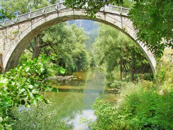 """Misiou"" arch stone bridge"