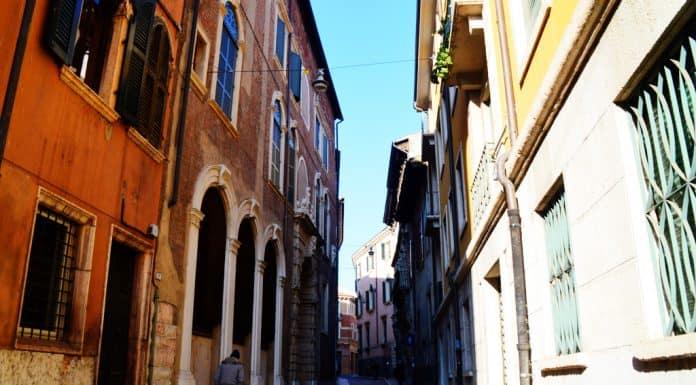 Verona narrow roads
