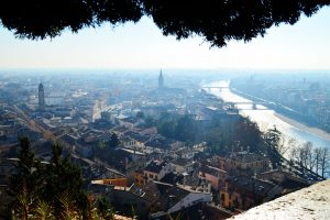 Verona from the top
