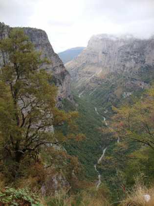Vikos canyon Zagoria Epirus