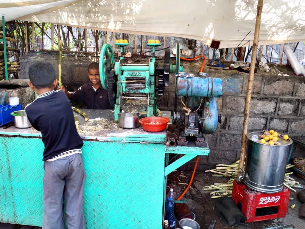 Hyderabad, juice made of cane