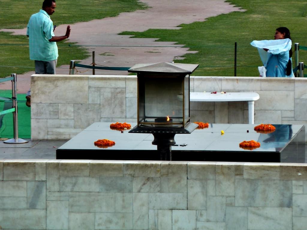 Raj Ghat, Tomb of Gandhi