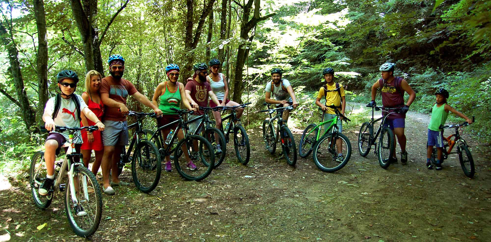 Chalkidiki bike ride