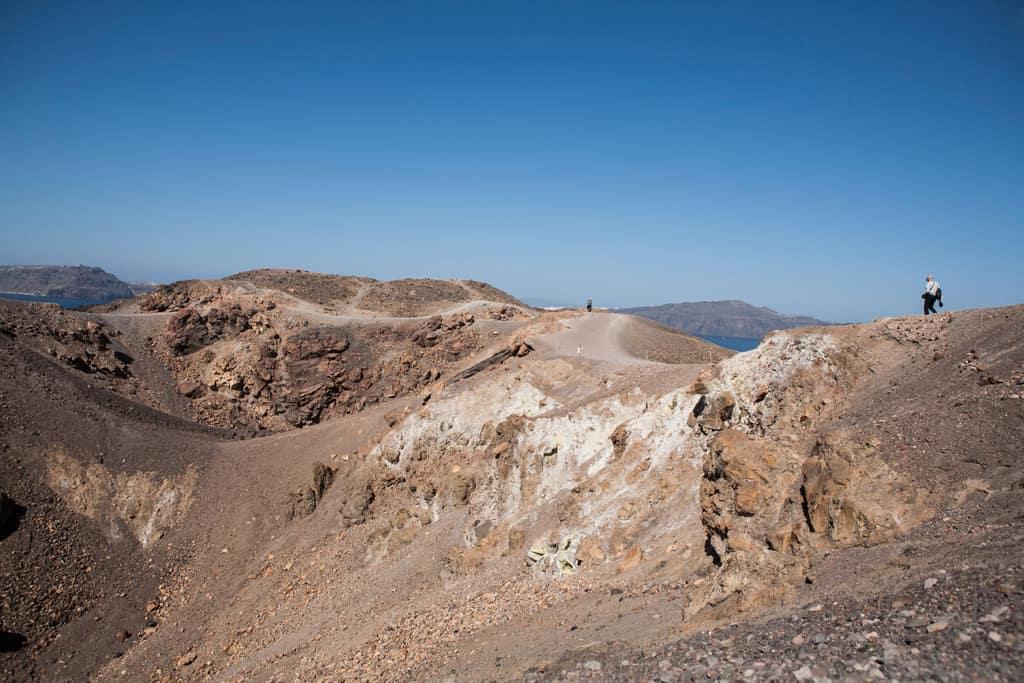 Santorini Greece Natural Resources