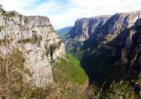 Papigo Vikos panorama