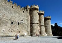 Castle of Rhodes Greece