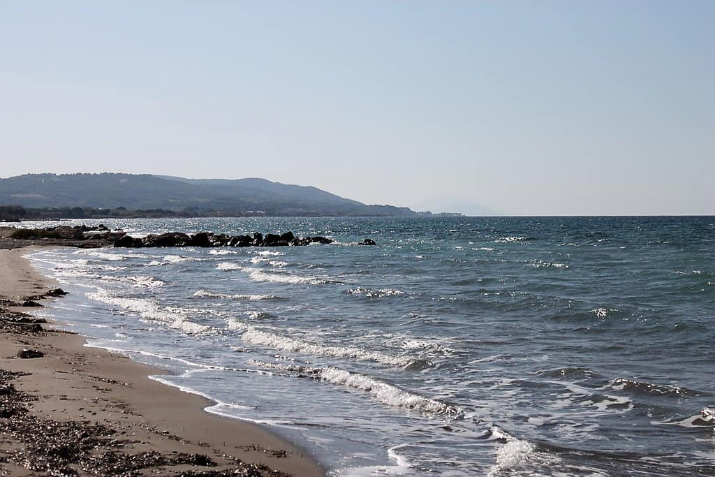 Fanes beach Rhodes Greece