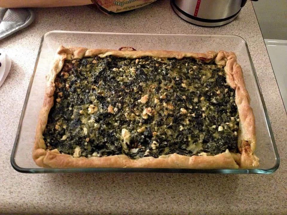 10 Strange Greek Foods and 7 Greek Aphrodisiacs Spinach Pie