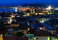 Nafplio, Greece at Blue Hour