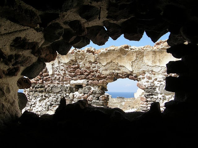 View from an Old House at Oia, Santorini