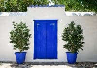Blue Doors, Hydra, Greece