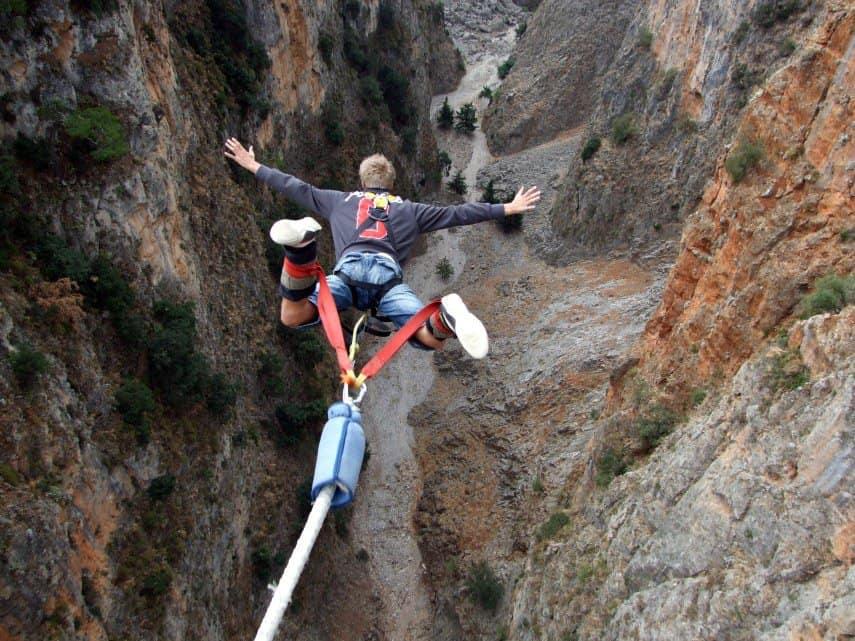 Liquid Bungy Jumping 138mt Free Fall Agreekadventure