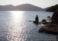 travel to greece, silve island yoga