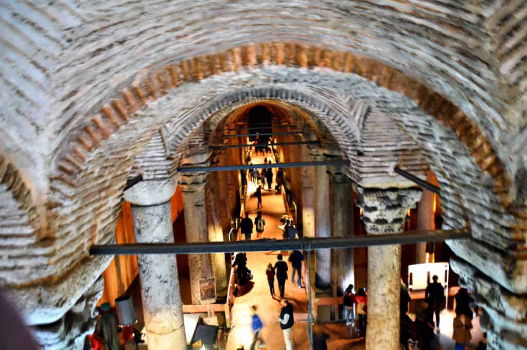 Basilica Cisterna Istanbul Turkey