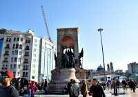 Taxim Square Istanbul Turkey