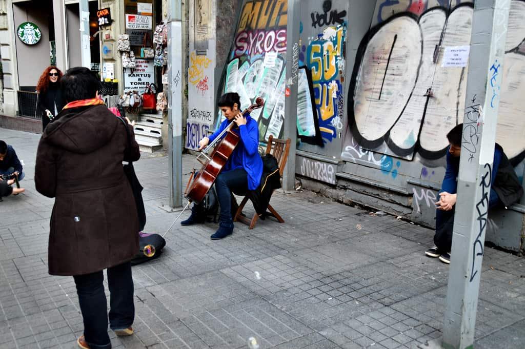 Taxim Istiklal Istanbul Turkey