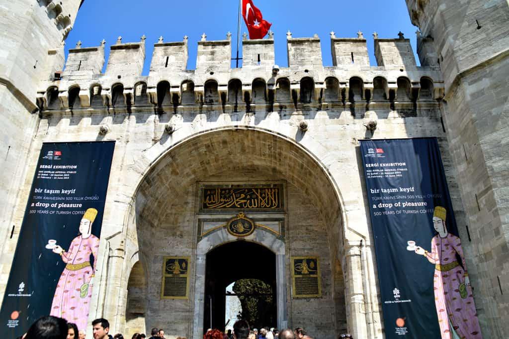 Top Kapi Istanbul Turkey
