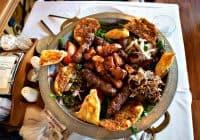 Turkish huge platter for 2 persons