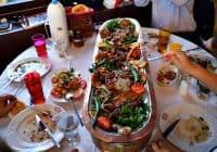 Turkish huge platter