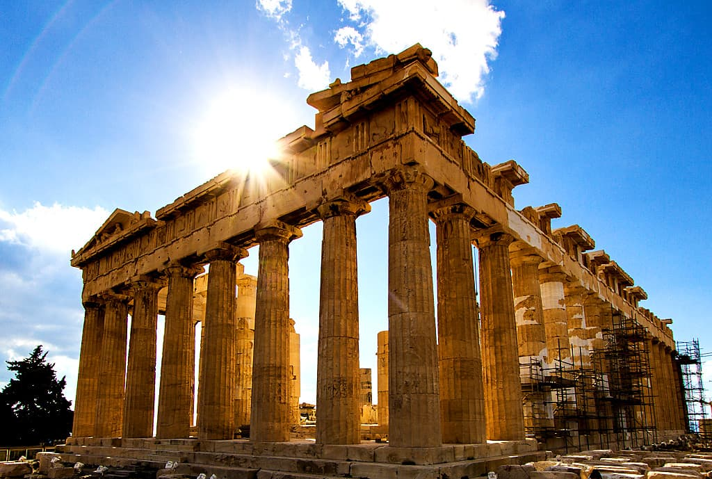 Unesco World Heritage Parthenon - UNESCO World Heritage Sites in Greece