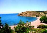 Chios Island. Lefkathia Beach Volissos. Antigoni Maistrali