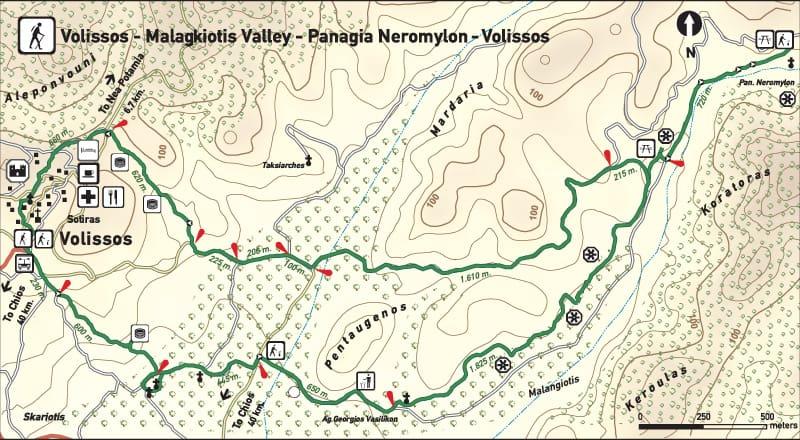 Volissos Route