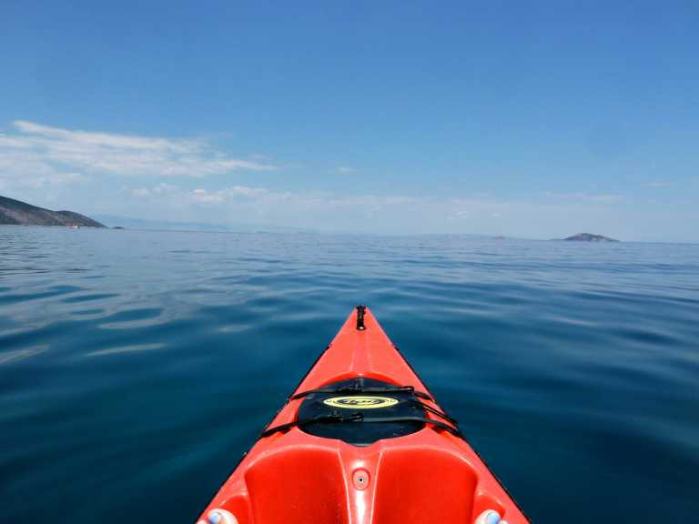 Sea Kayaking Epidavros Peloponnese Greece