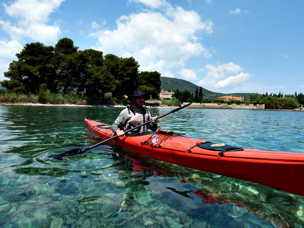 Kayaking Greek Islands