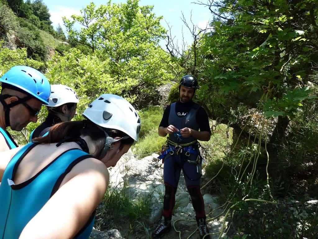 Greek Canyoning Tour at Mountains over Xylokastro