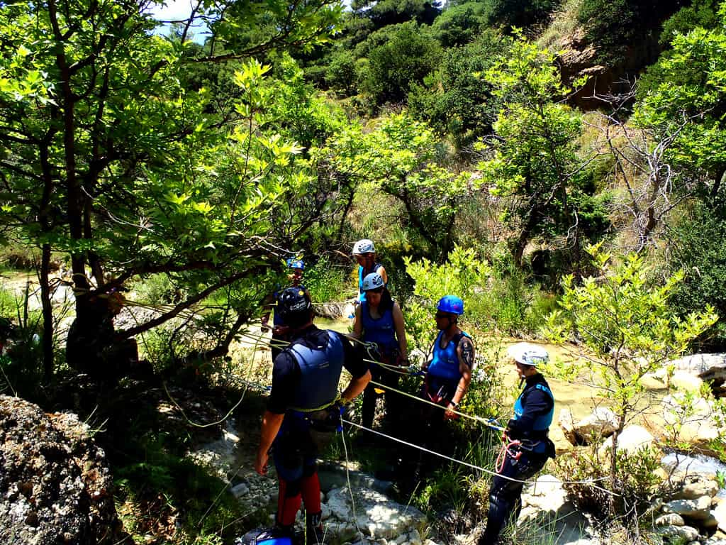 Greek Canyoning Tour at Mountains over Xylokastro
