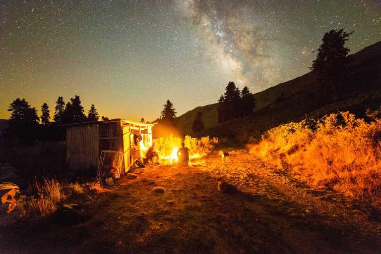 Milky Way Timelapse Video at Petrilo, Karditsa Greece 1