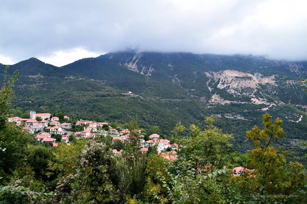 Nafpaktos - Platanos village