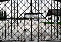 Entrance to Dachau camp