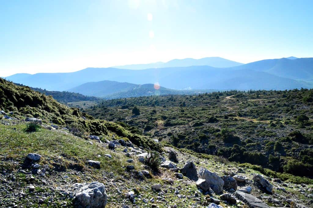 Greek Mountains Kithaironas