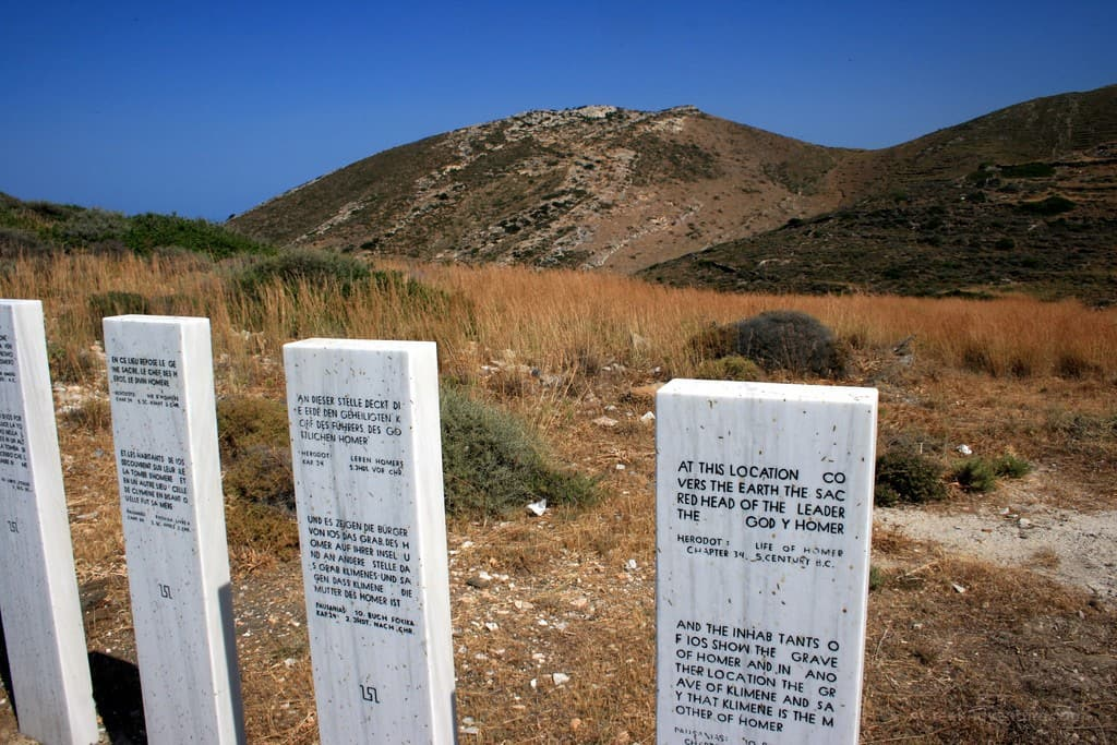 Homer's Tomb Ios Greece