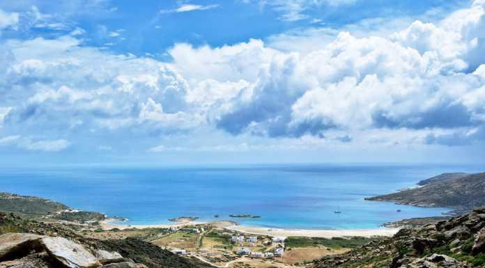 Manganari beach, Ios Greece