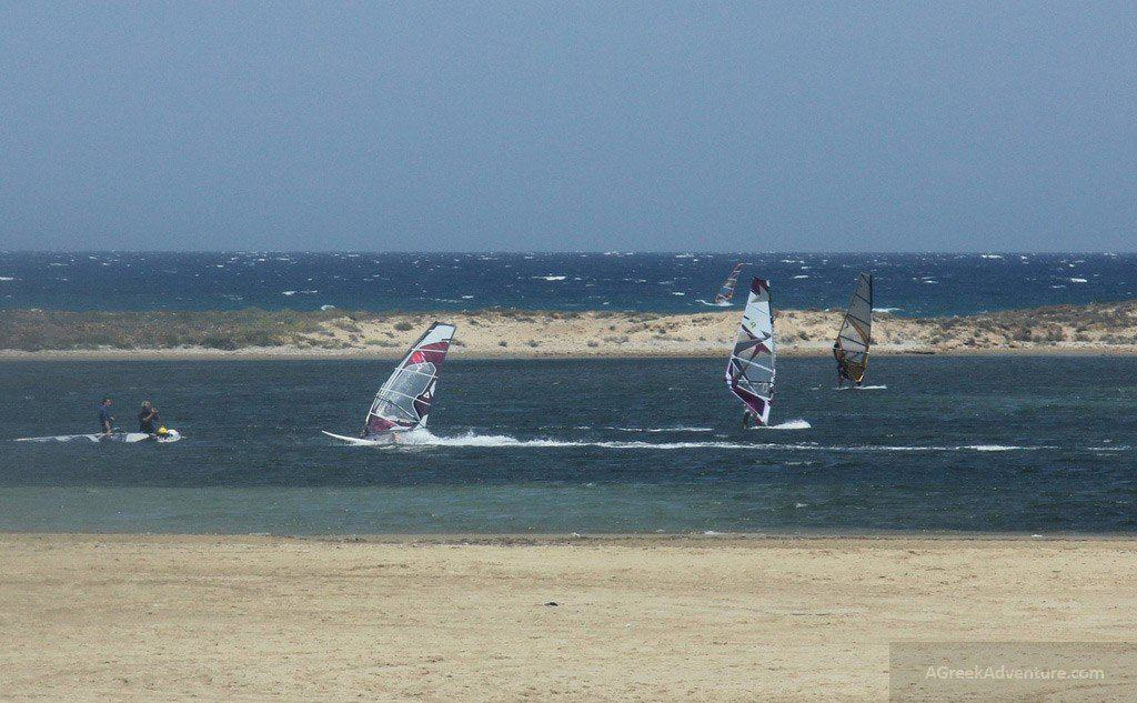 Windsurfing Naxos