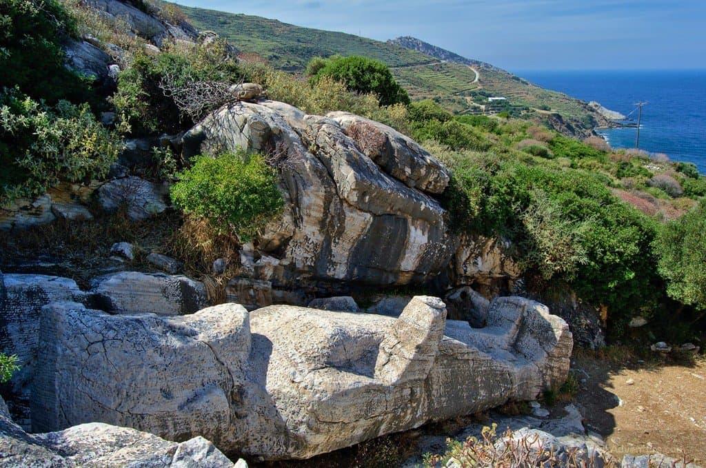 The Kouros of Apollonas - Naxos