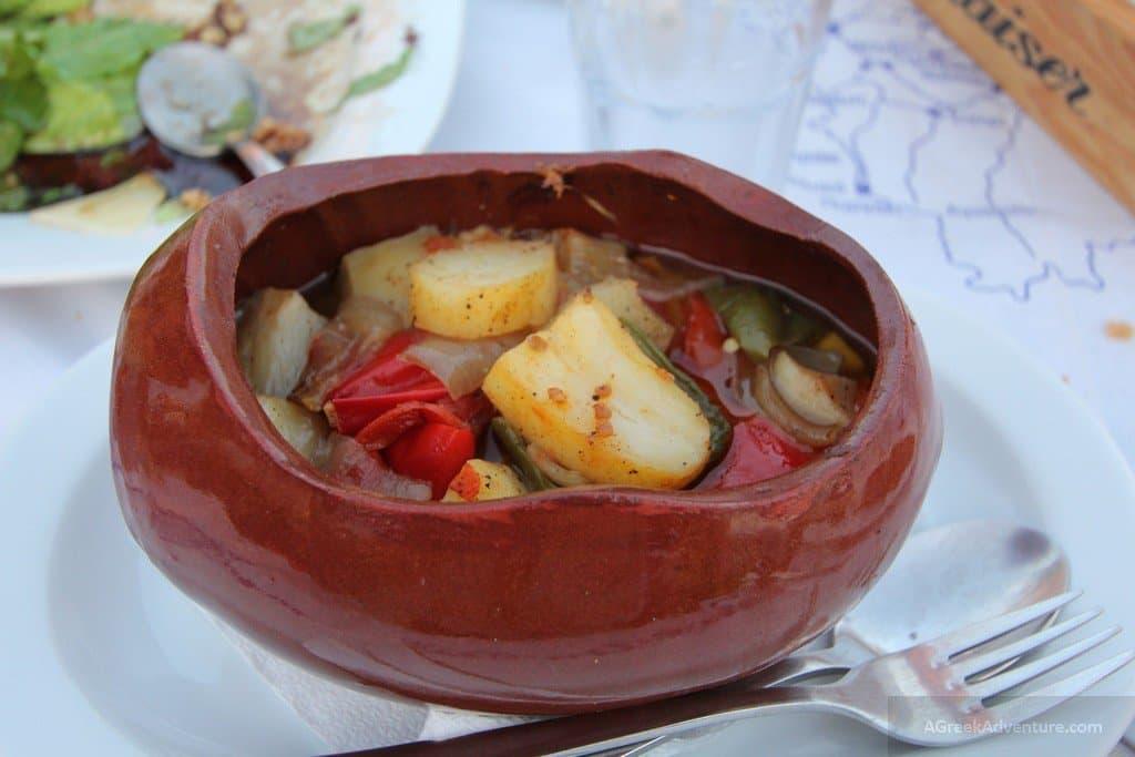 Naxos, delicious food