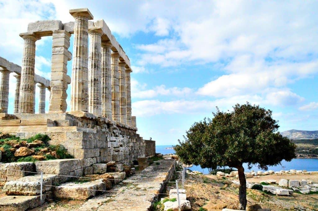 Cape Sounio Temple Of Poseidon Athens Greece