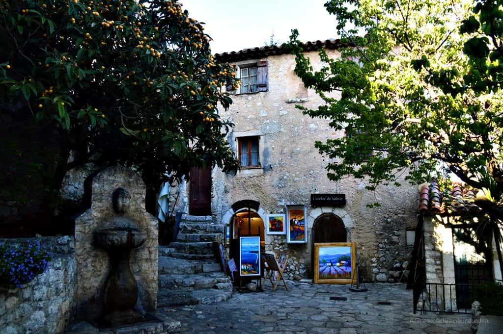 Eze village France