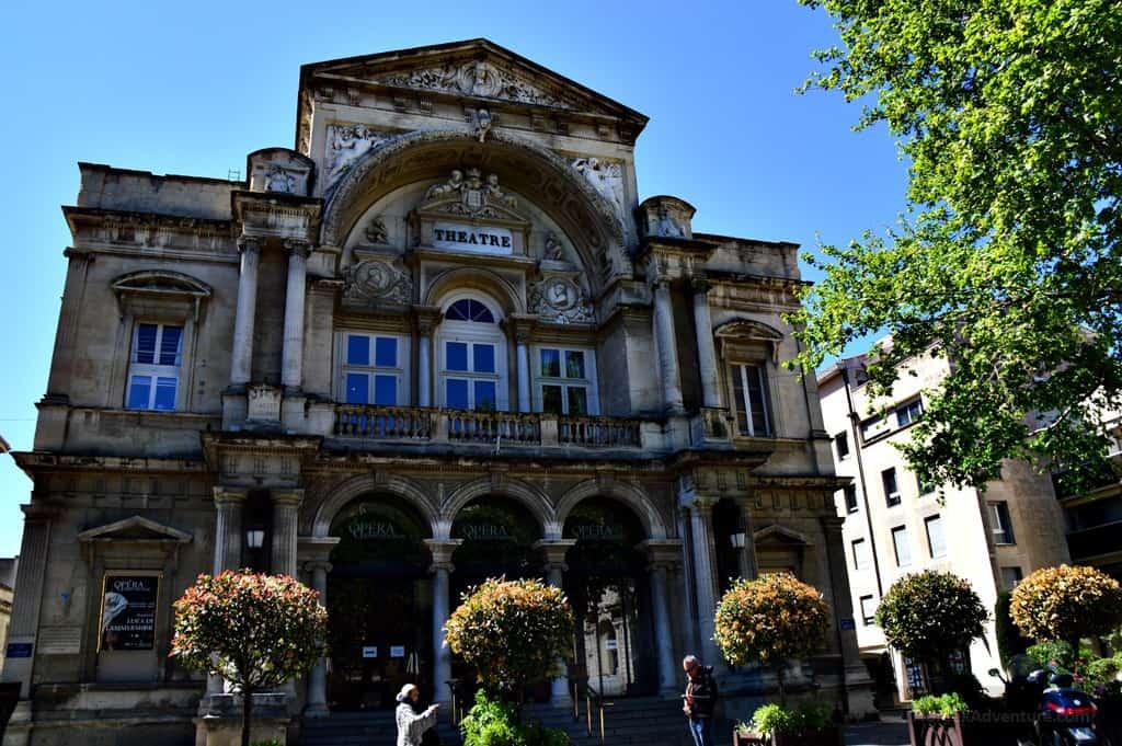 Avignon, France, City Theater
