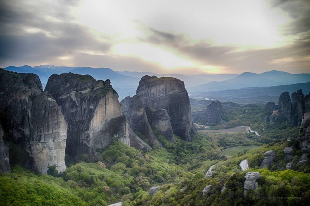 Meteora Greece Sunset Tour