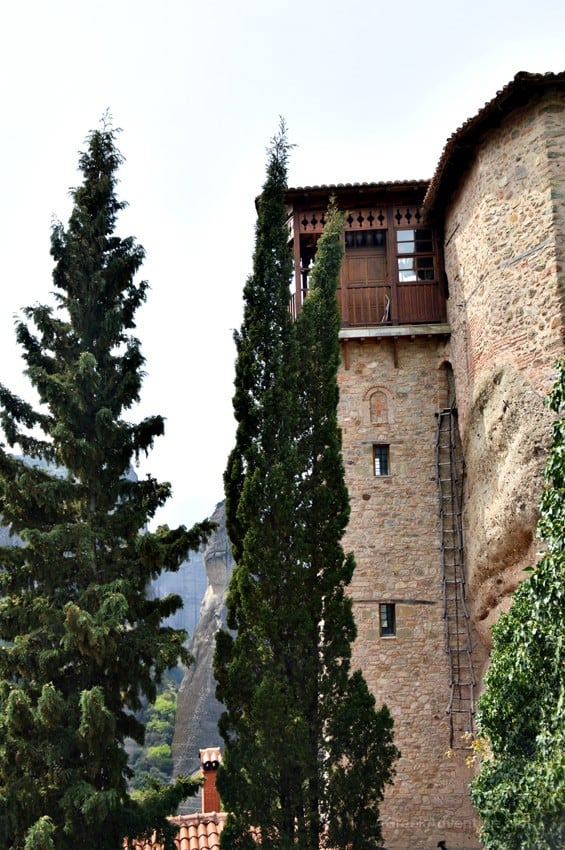 The Monastery of Saint Barbara Roussanou