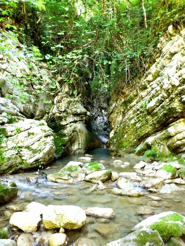 Karpenisi Panta Vrexei Canyon