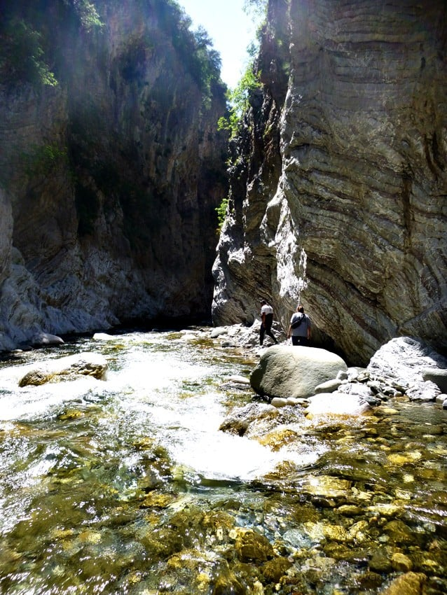 Karpenisi panta vrexei canyon greece agreekadventure for The canyons at falling water