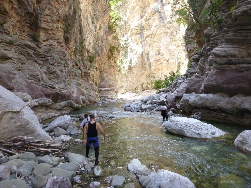 Karpenisi Panta Vrexei Canyon Greece Agreekadventure