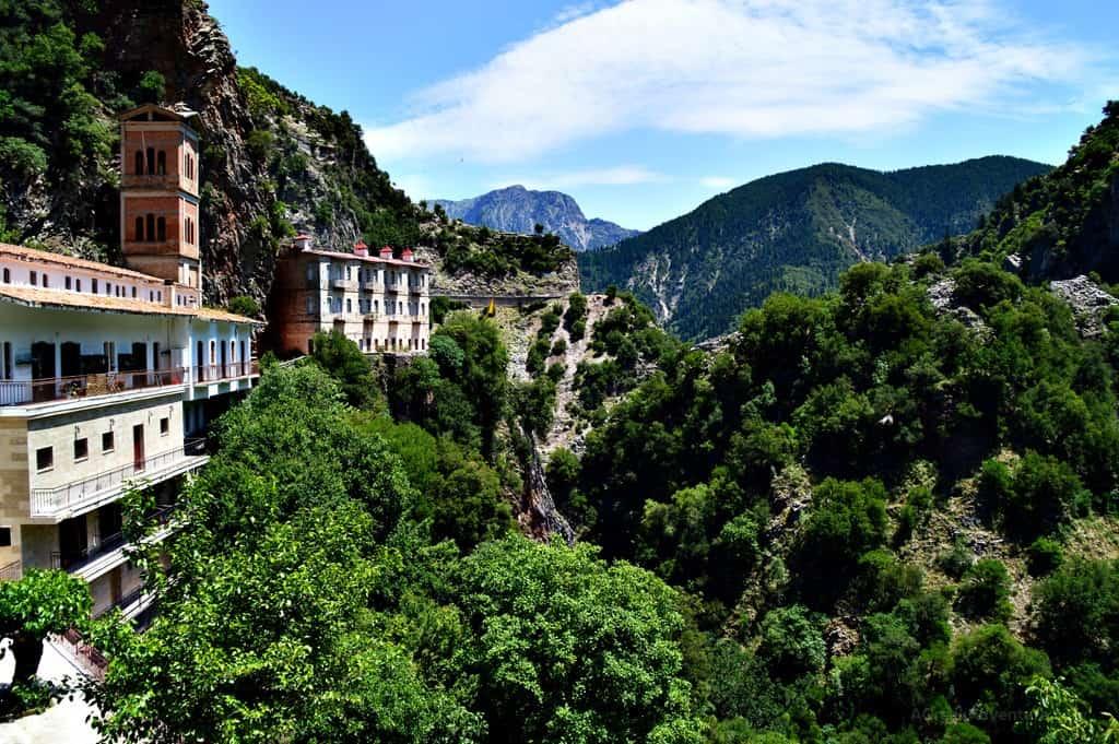 Karpenisi Proussos Monastery