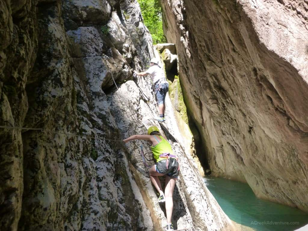 Via Ferrata Karpenisi